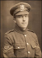 Lance Corporal H F Robinson (43087) of the 3rd Battalion the Manchester Regiment. (MRP/4/D)
