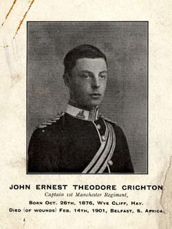 Captain John Ernest Theodore Crichton of the 1st Battalion (MRP2B/13)