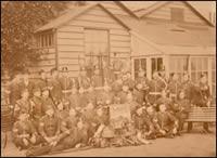 Men of the 96th Regiment of Foot, taken at Warley Barracks, Brentwood, Essex, 1875c. (MRP/1C/50)