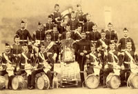 Drums of the 1st Battalion, Kinsale, Ireland 1894 (MRP1B27)