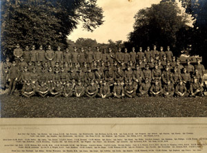 Sergeants of the 1st & 2nd Bn's in 1919
