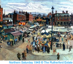 Northern Saturday by Harry Rutherford