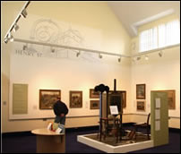 Photo of the Rutherford Gallery interior