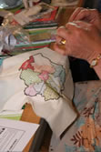 Stitching of a map of Tameside